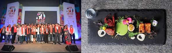 2016 ASIA BEST RESTAURANT 50&MINGLES VIA NEWSWIRE
